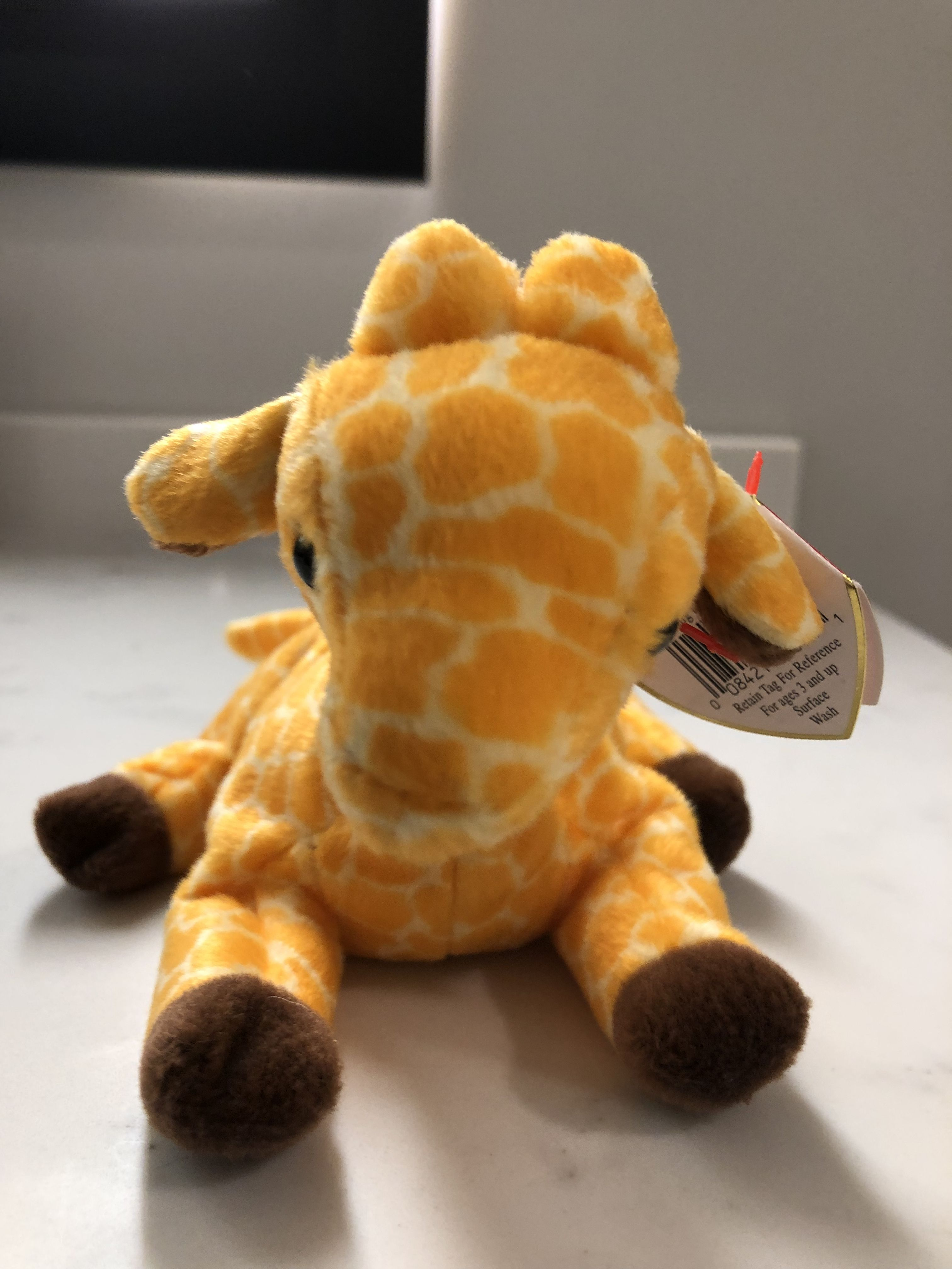 TY TWIGS the GIRAFFE  BEANIE BABY MINT with MINT TAG