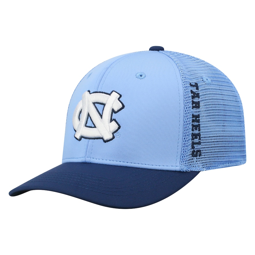 71fc0f5d2f Adult Top of the World North Carolina Tar Heels Chatter Memory-Fit Cap,  Light Blue