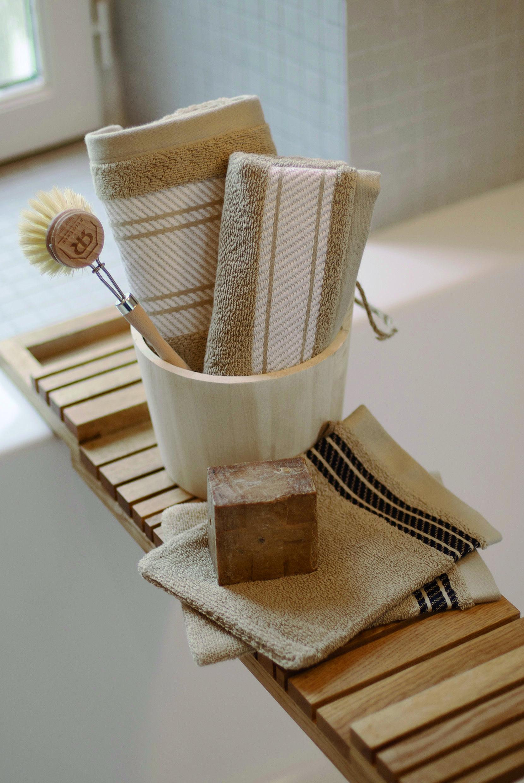 Carrelage Mural Salle De Bain Tendance ~ Linge De Bain Coton Jean Vier Biarritz Original Cotton Bath Towels
