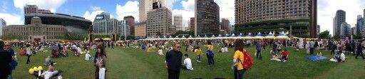 노무현 전 대통령 추모 4주기. 서울시청 앞 광장