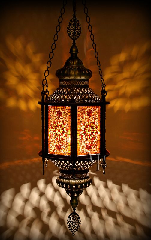 Middle Eastern Lumination Lighting Moroccan Lamp