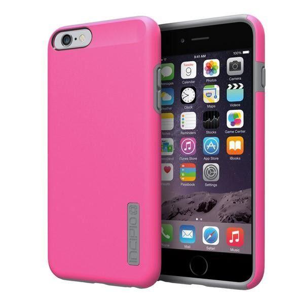 Incipio iPhone 6 Plus / 6s Plus Dual PRO Case - Pink / Charcoal