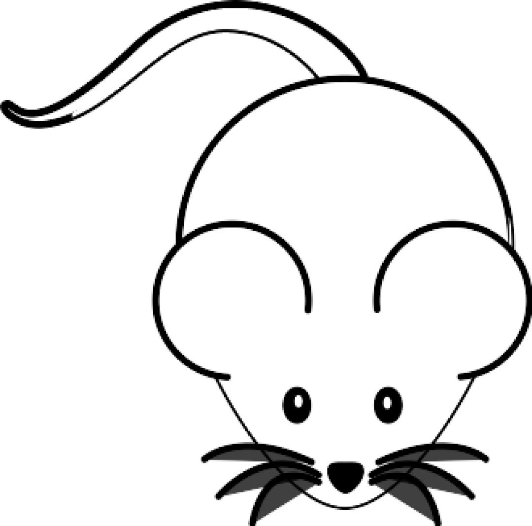 Clipart Black And White Mouse Svg Clipart Black And White Clip Art Black And White