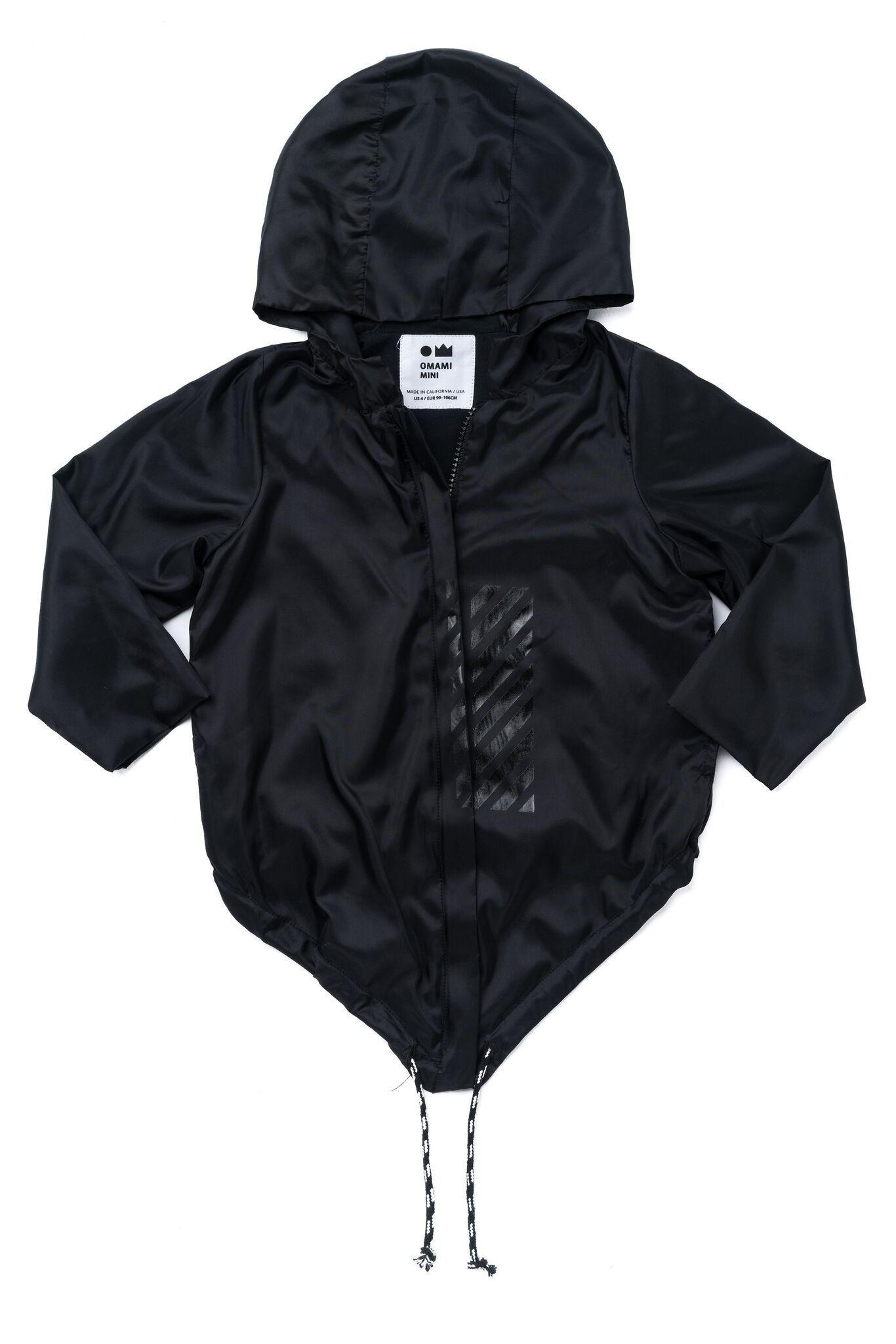 Superora Kids Rainwear Children PVC Waterproof Raincoat Hooded Poncho Button Down