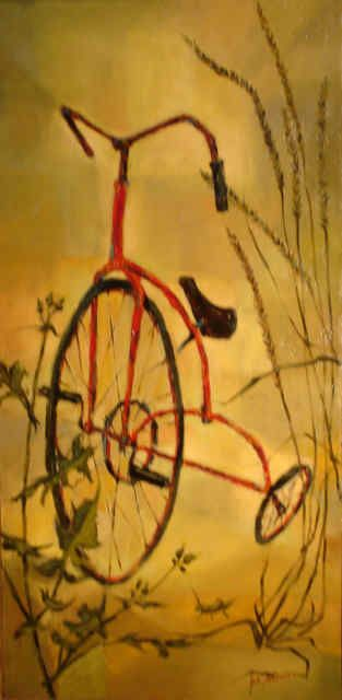 The Trike, I always loved this painting.