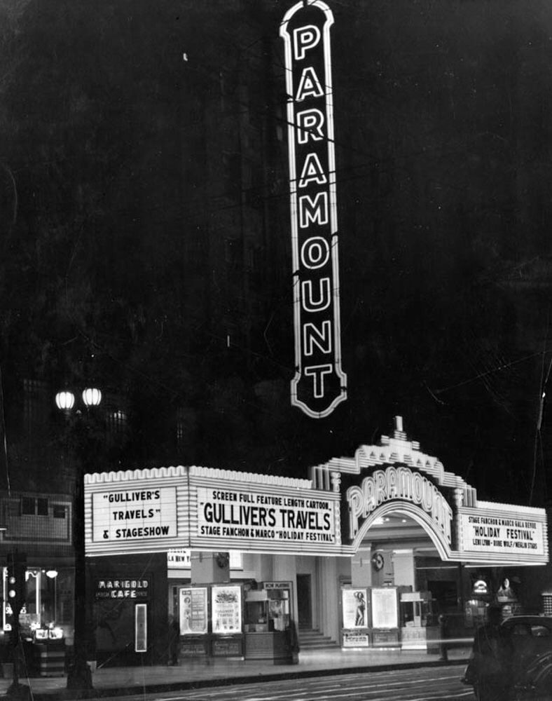 Demolishing the largest movie theatre in los angeles