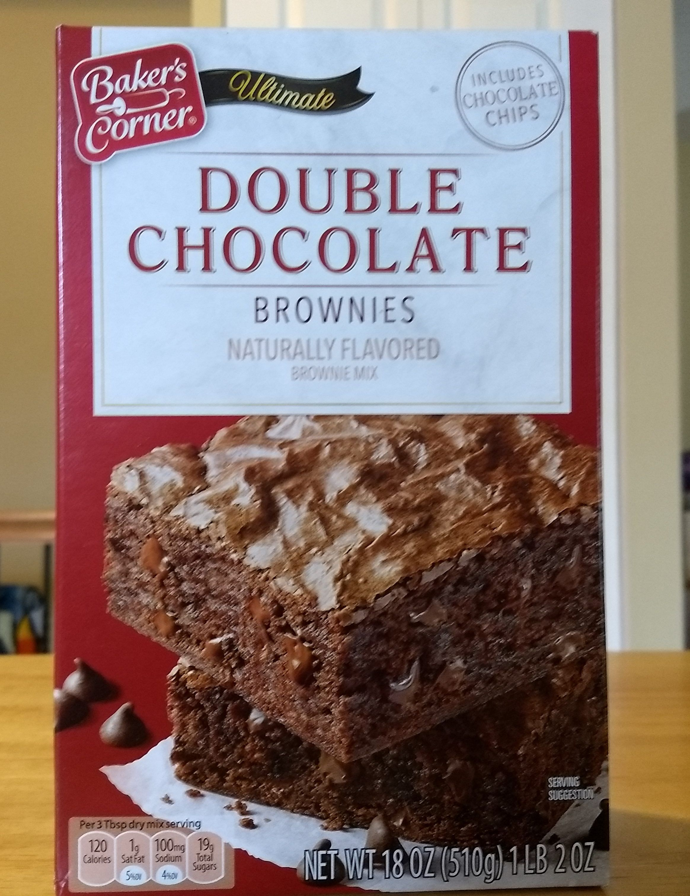 Baker S Corner Ultimate Double Chocolate Brownies Chocolate