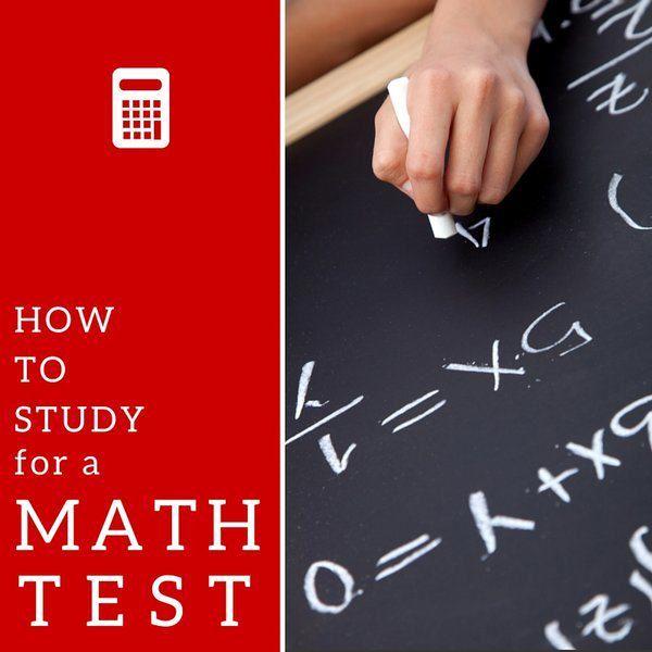study for math test