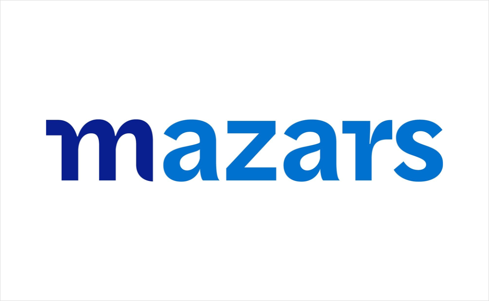 International Accounting Firm Mazars Reveals New Logo Logo Designer In 2020 Business Finance Accounting Firms One Logo