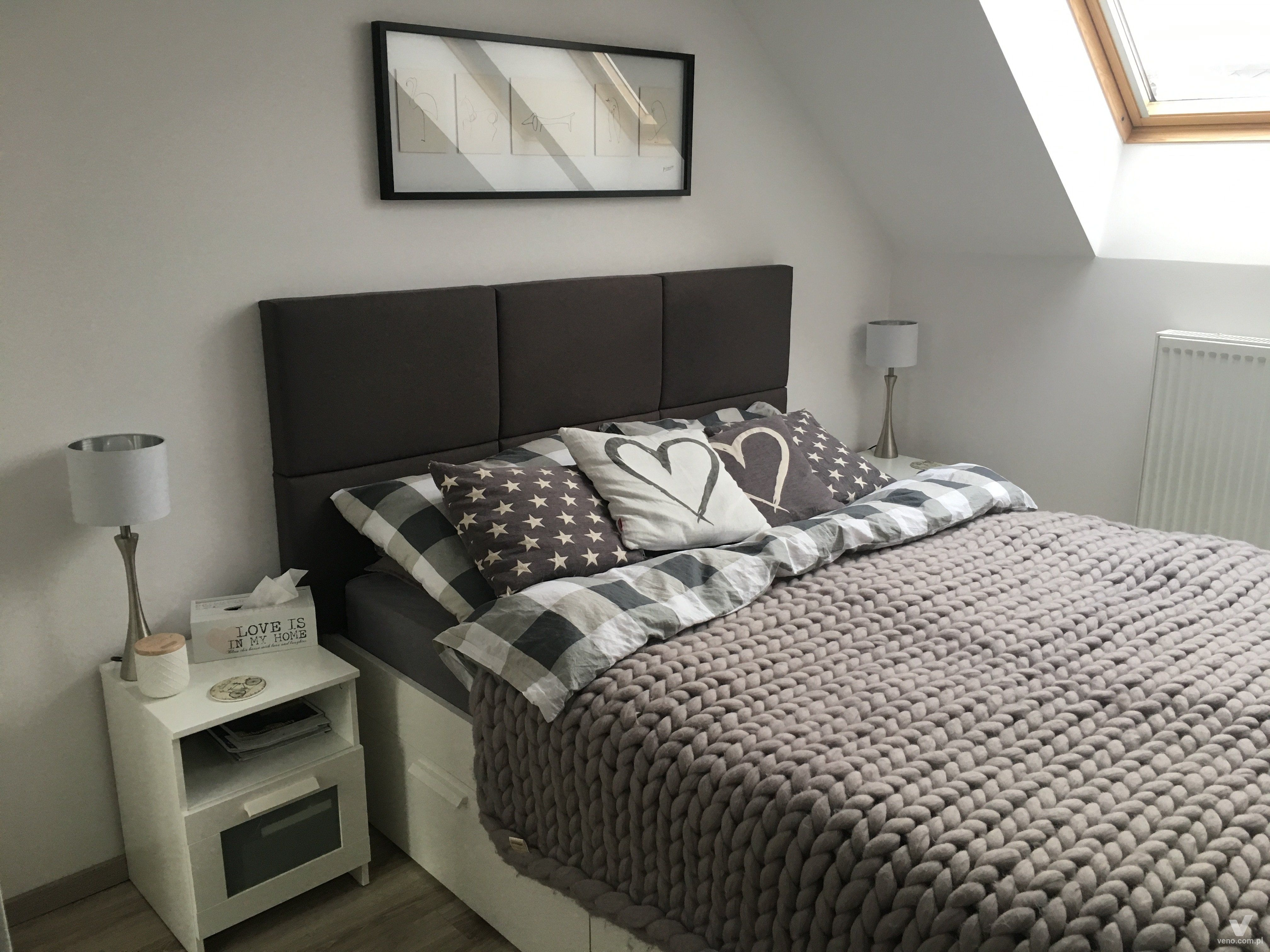 Wall Panels Upholstered In The Bedroom Veno Panele
