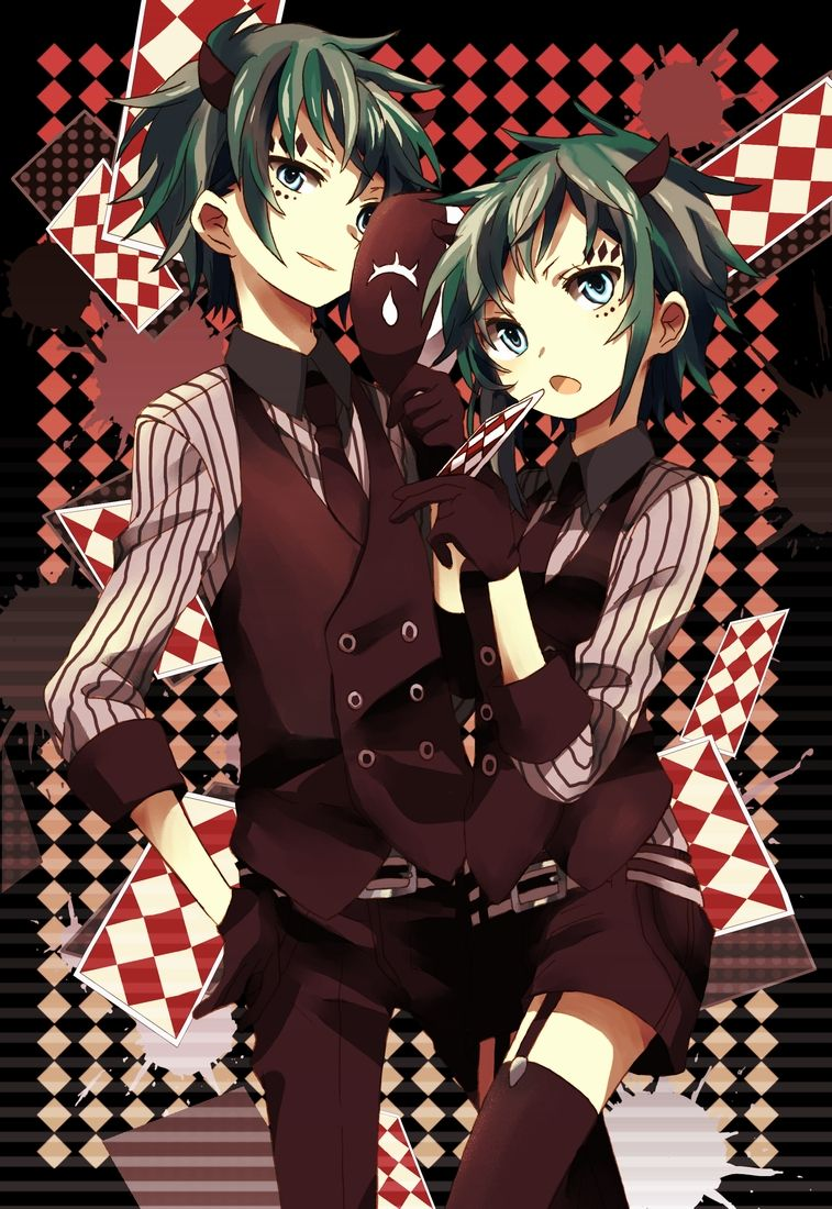 Vocaloid Gumo (Gumiya) & Gumi Poker Face Nhân vật anime