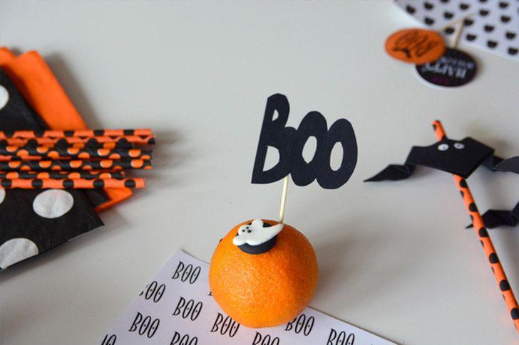 Imprimibles para fiestas infantiles de Halloween | Fiestas ...