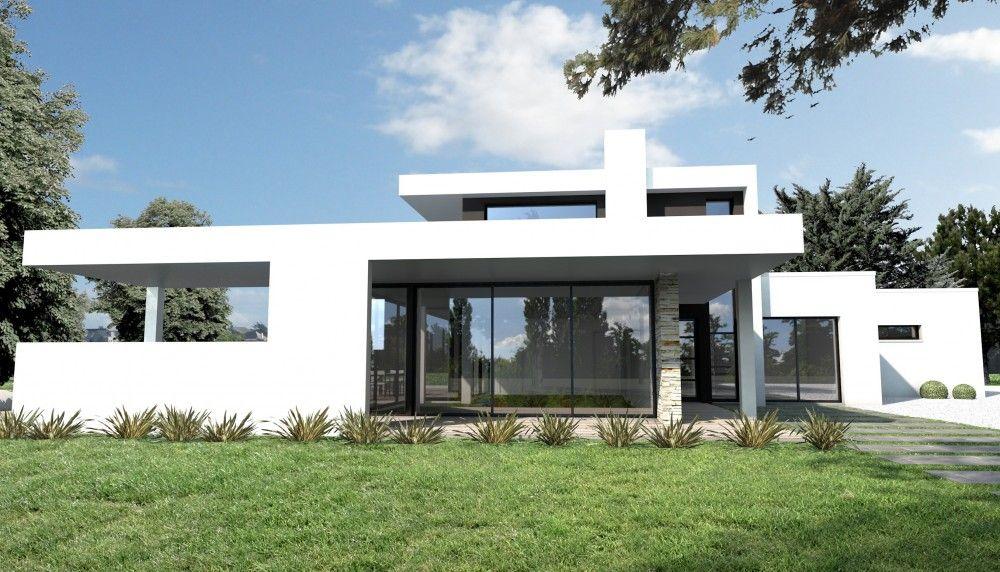Constructeur maison moderne nantes st felix loire atlantique 44 depreux construction