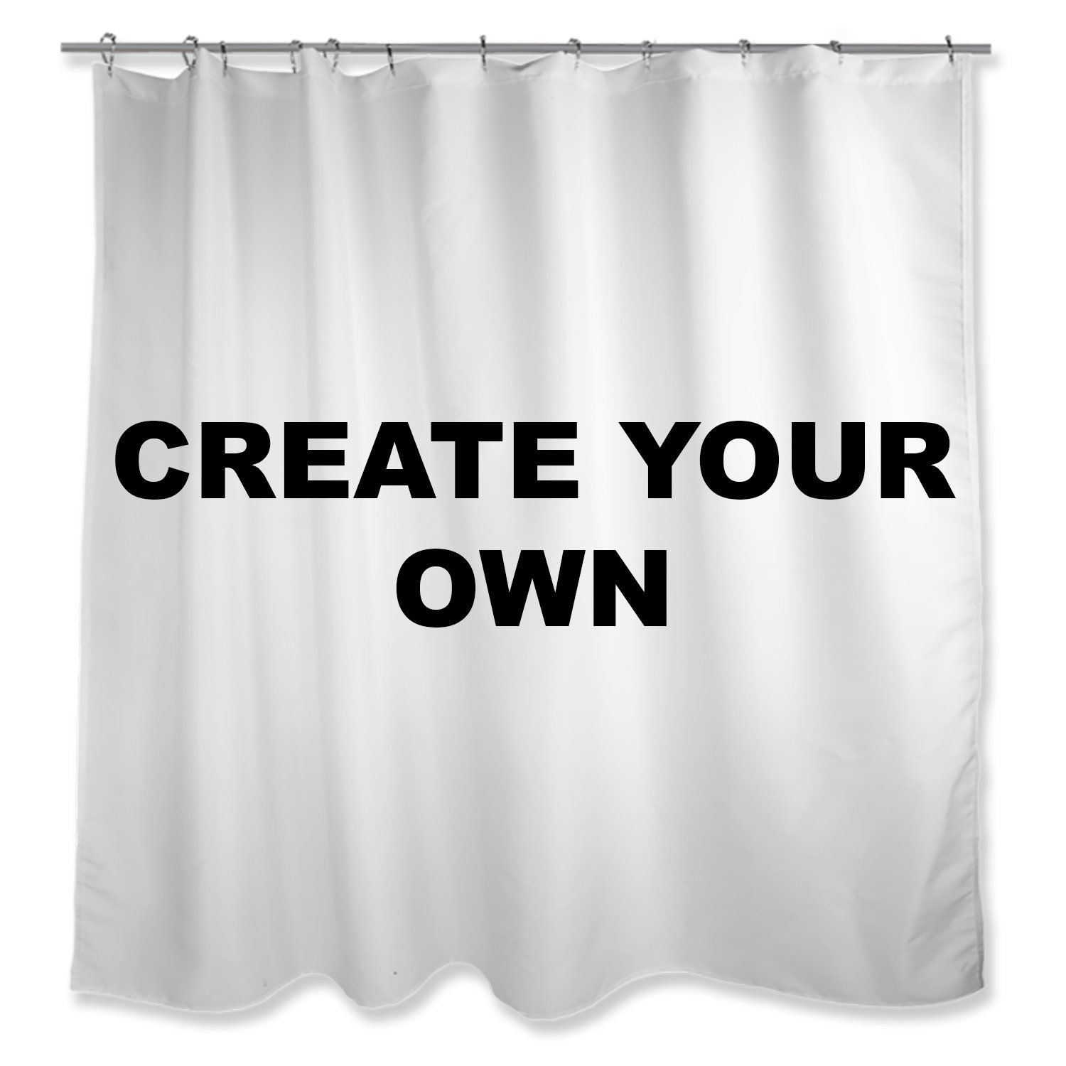 Create Your Own Shower Curtain In 2020 Curtains Shower Curtain