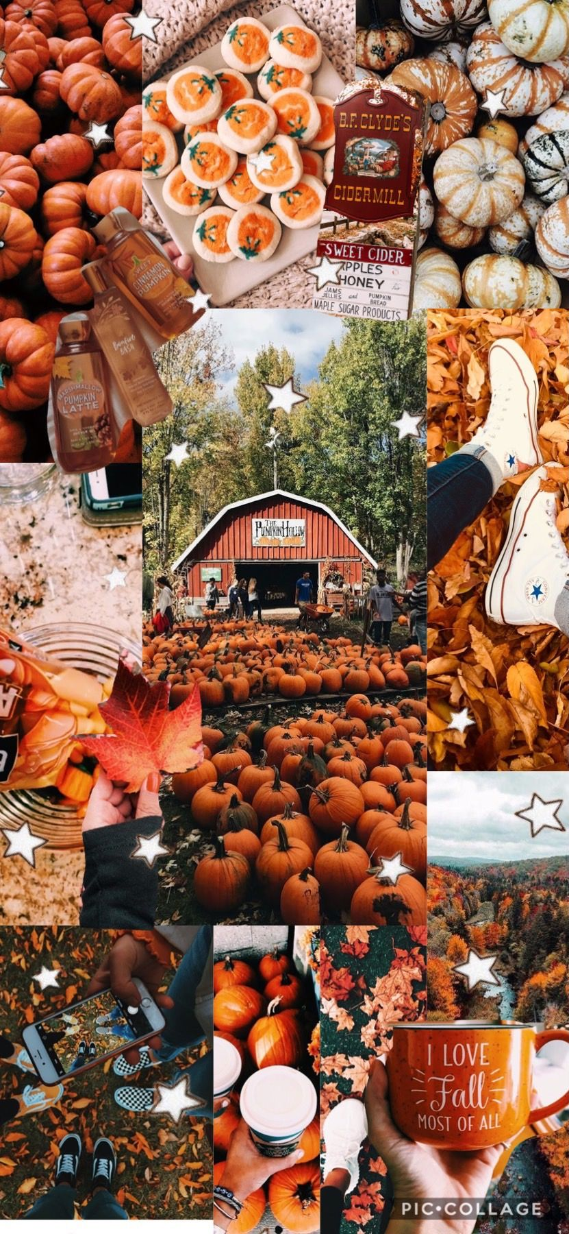 Fall Collage Keira Droney Fall Collage Autumn Wallpaper Lockscreen Phone Fall Wallpaper Cute Fall Wallpaper Fall Halloween Decor