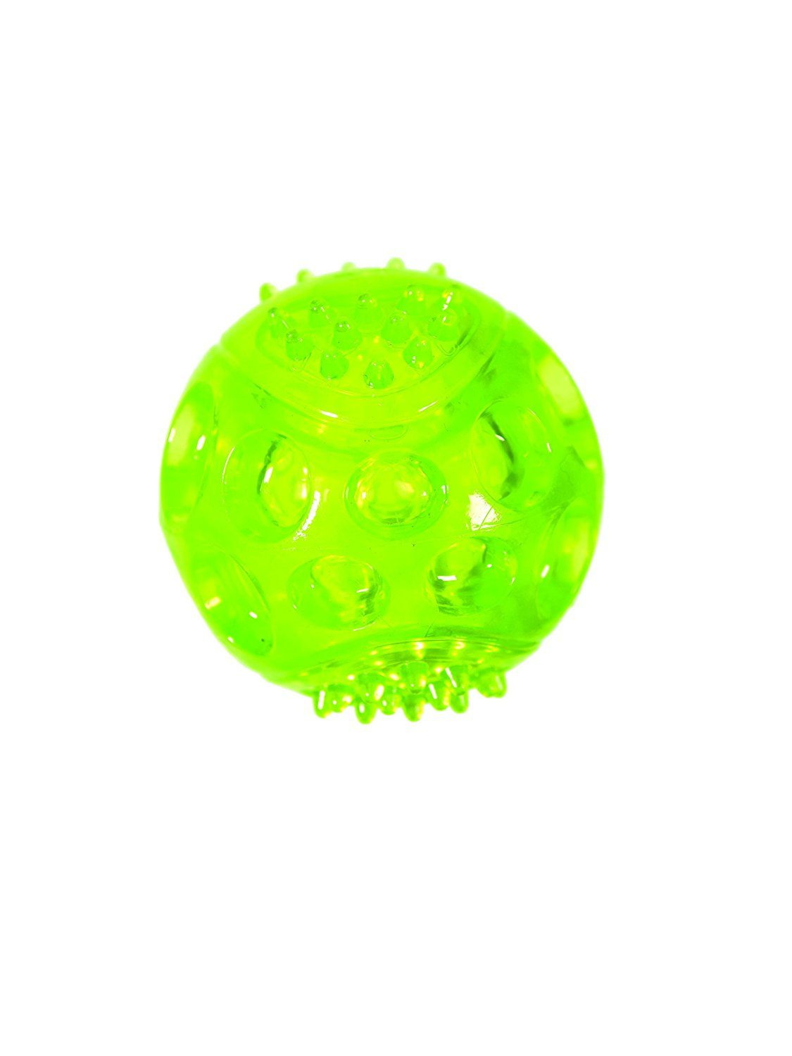 Chase N Chomp Durable Trp Led Light Up Fetch Ball Dog Toy