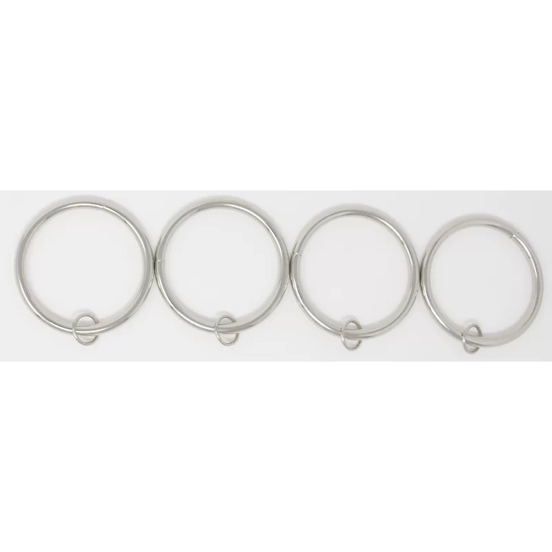 Mcclure Metal Curtain Ring Curtains With Rings Metal Curtain