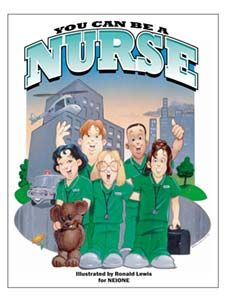 Promote Nurses! Coloring books and more! Pass out to kindergarten on ...