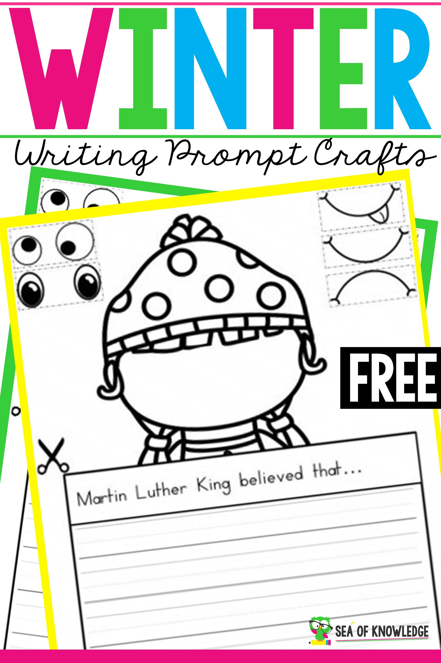 Winter Writing Prompts Crafts To Get Every Student Writing