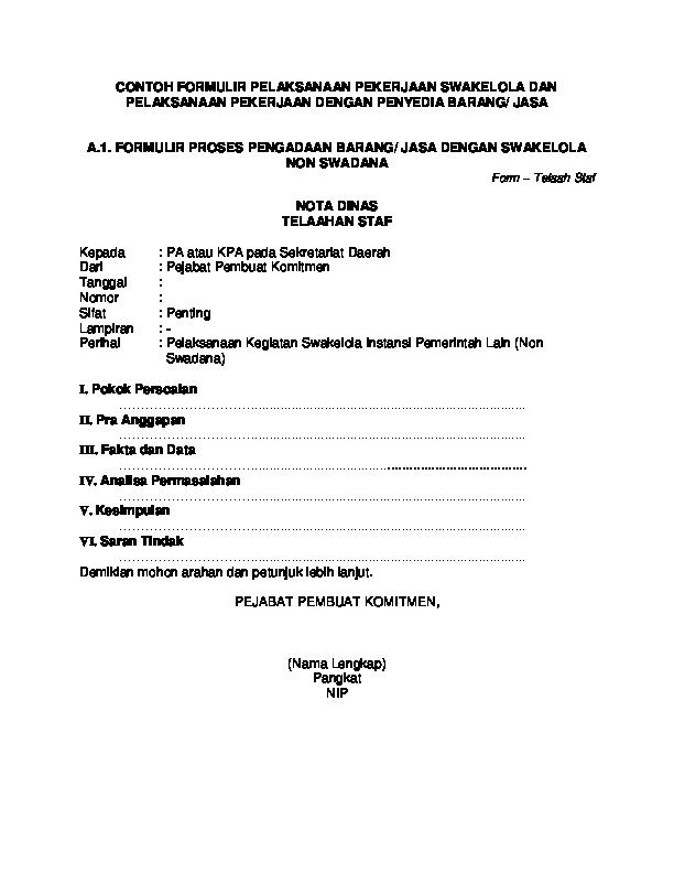 Contoh Form Pengajuan Barang : contoh, pengajuan, barang, CONTOH, FORMULIR, PELAKSANAAN, PEKERJAAN, SWAKELOLA, DENGAN, PENYEDIA, BARANG/, PROSES, PENGADAAN, SWAKEL…, Tanggal