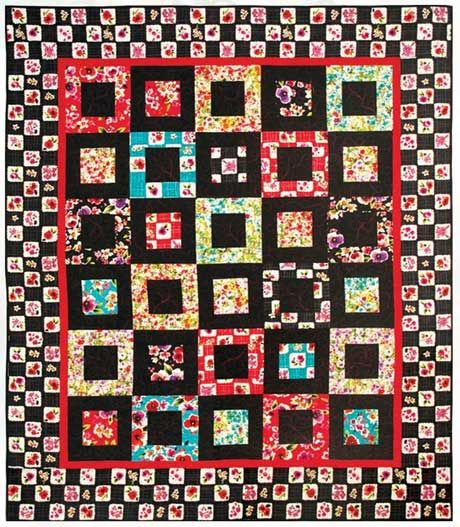 I have made this pattern. It was called Potato Chip Quilt. It ... : potato chip quilt pattern - Adamdwight.com