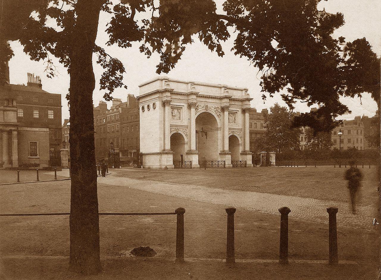 Marble Arch London Photograph Circa 1890 Paddington London Marble Arch London London History
