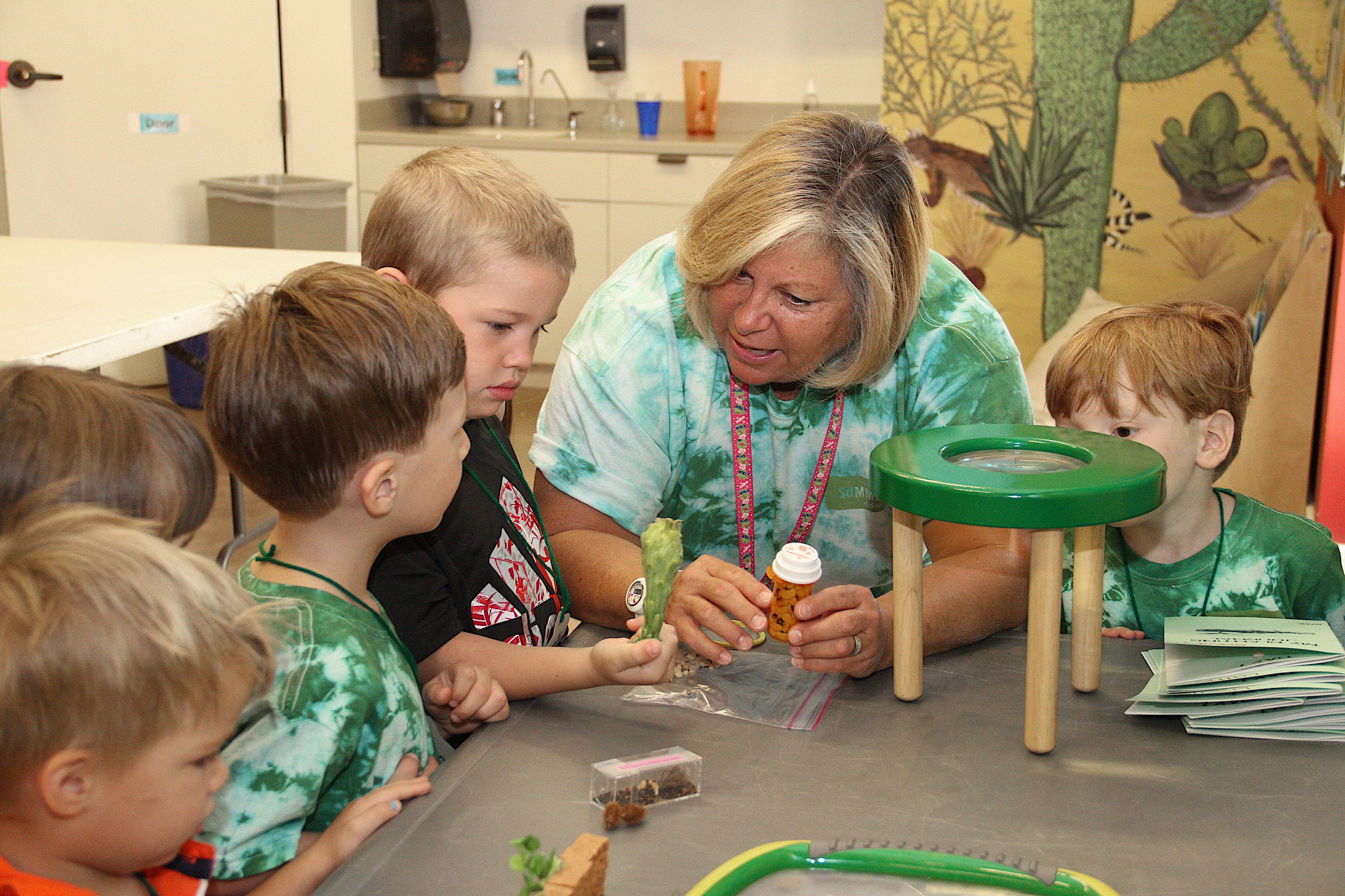 Kids summer camp at the Desert Botanical garden, 2014   Kids ...