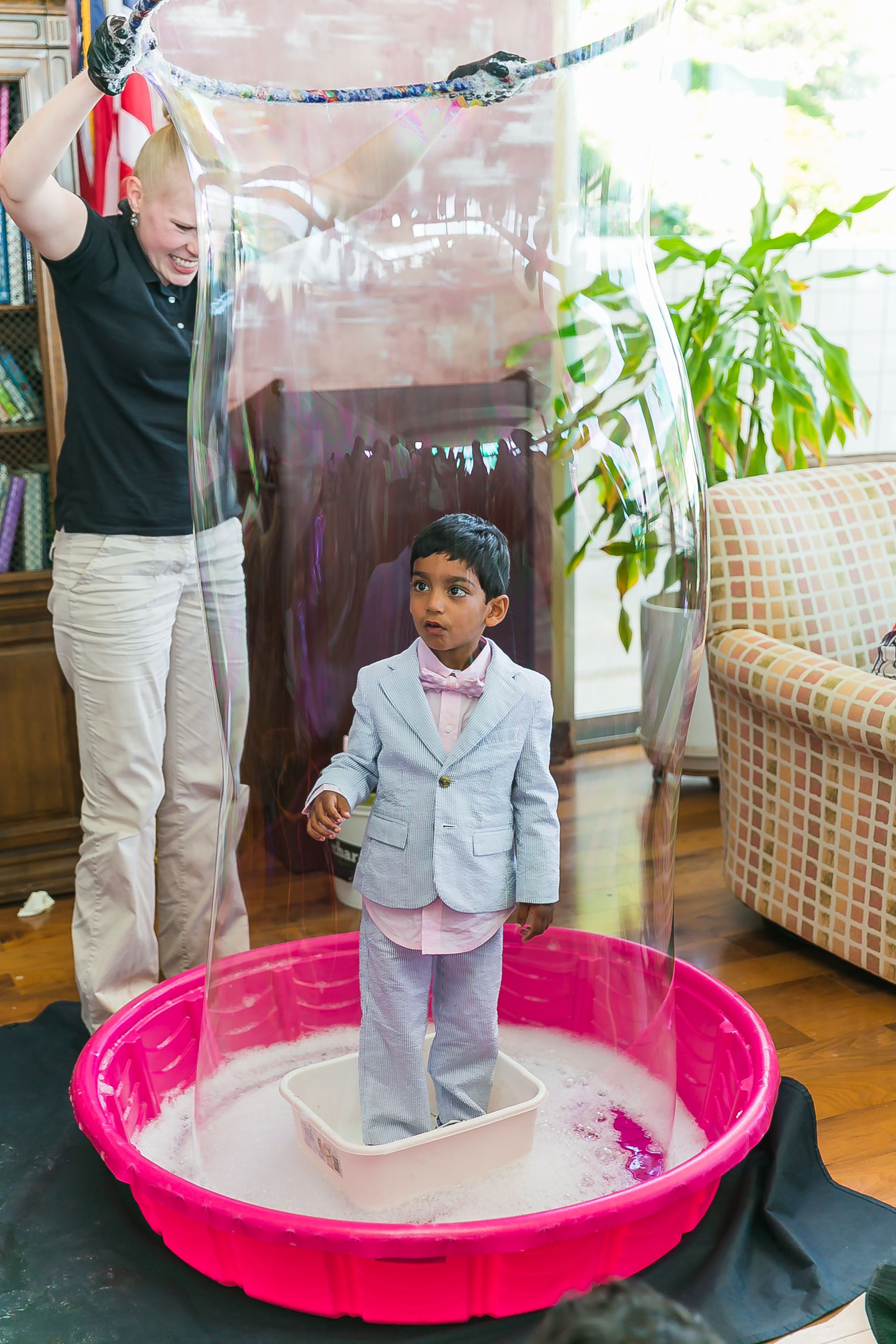Project Nursery - Giant Bubble Kid's Party Activity