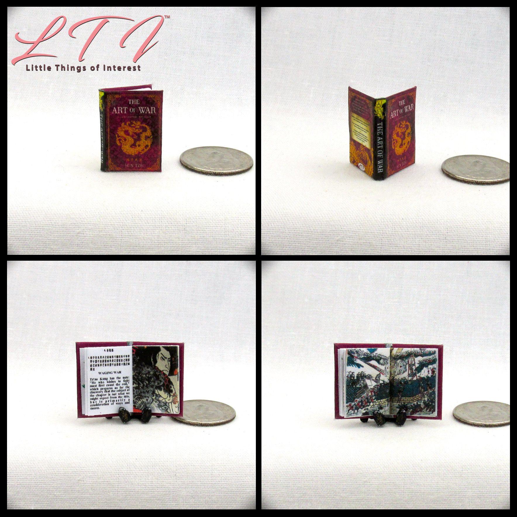 George Orwell/'s Animal Farm dollhouse miniature book