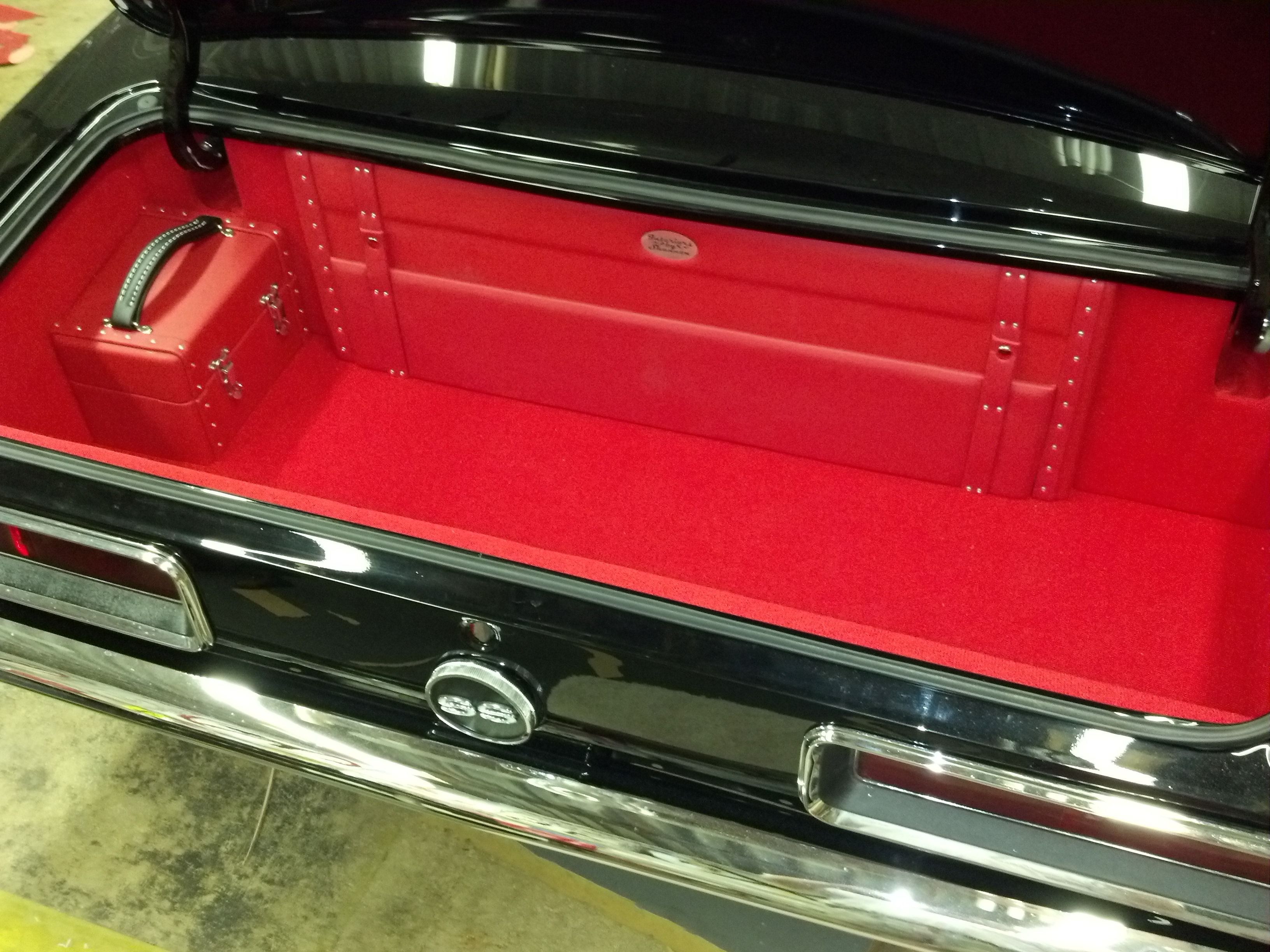 black 67 camaro red interior interior by shannon custom seats console door panels trunk. Black Bedroom Furniture Sets. Home Design Ideas