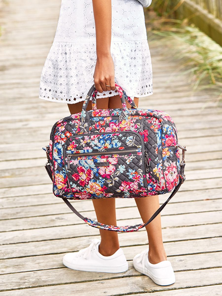 Compact Weekender Travel Bag In 2019 Vera Bradley Duffle
