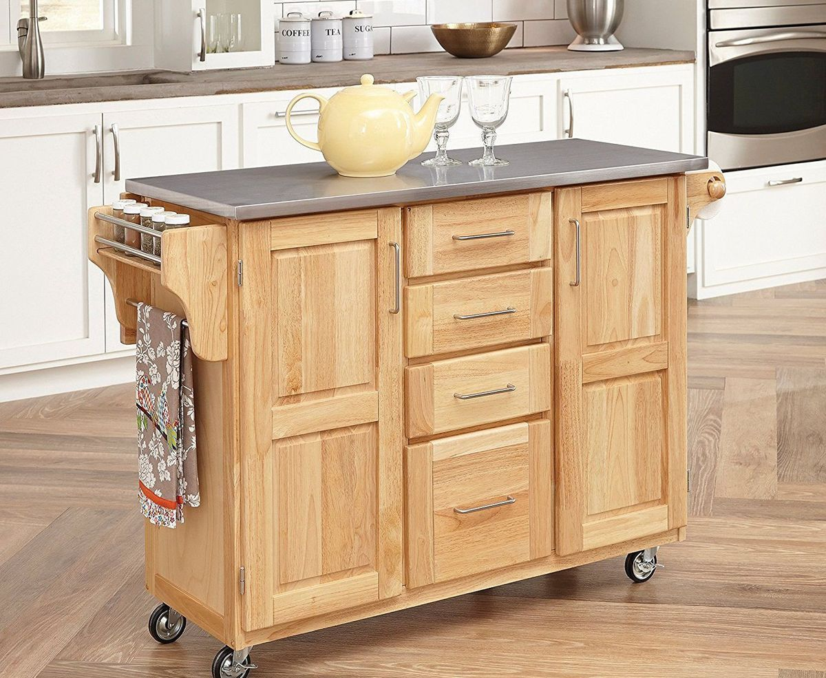 Best 3 Moveable Islands For Small Kitchens Home Kitchen 400 x 300