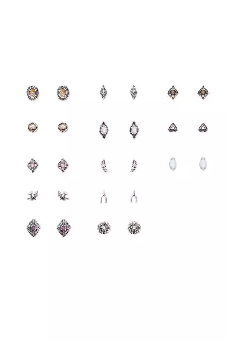 Different nose piercing names  Product NameAssorted Burnished Stud Earring Set CategoryACC