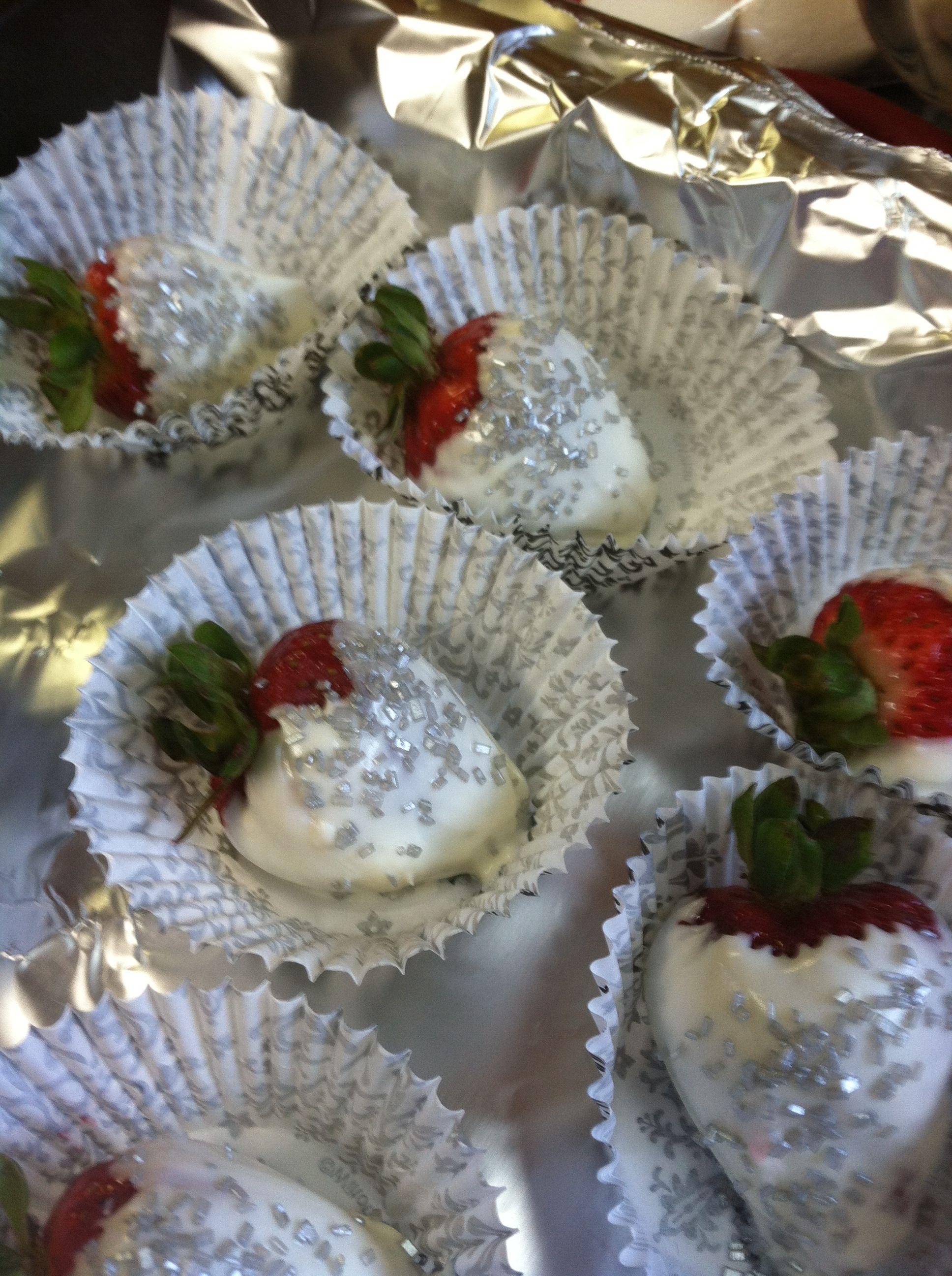 Baby Shower Paris Theme Chocolate Covered Strawberries