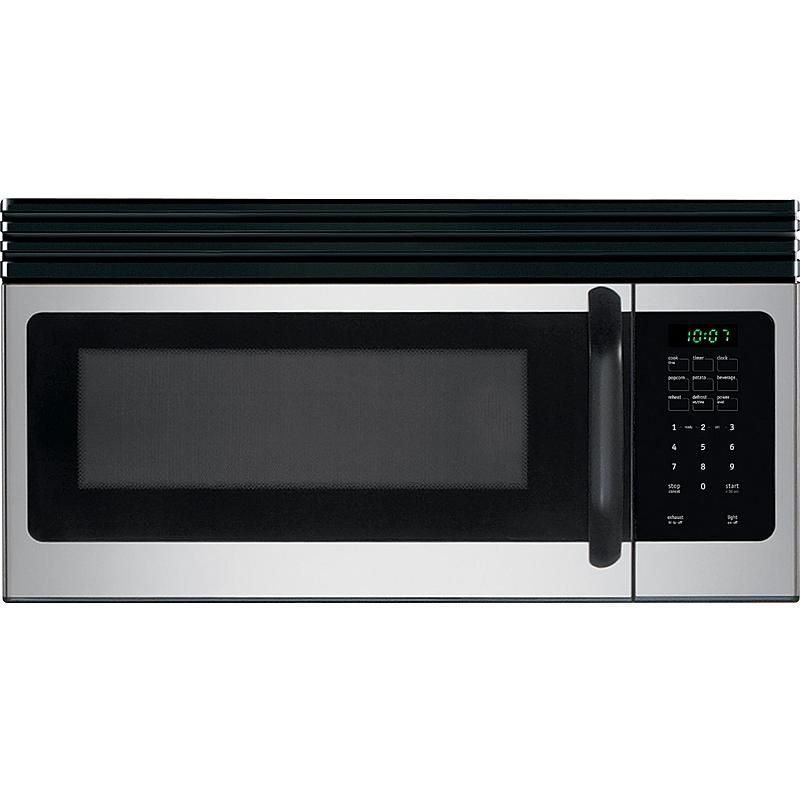 1 6 Cu Ft Over The Range Microwave Oven Stainless Steel