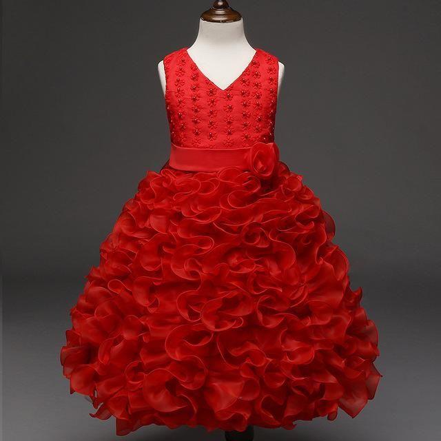 158670db20ad0 2018 Easter Carnaval Girls Dress Summer Princess Snow White Dress ...