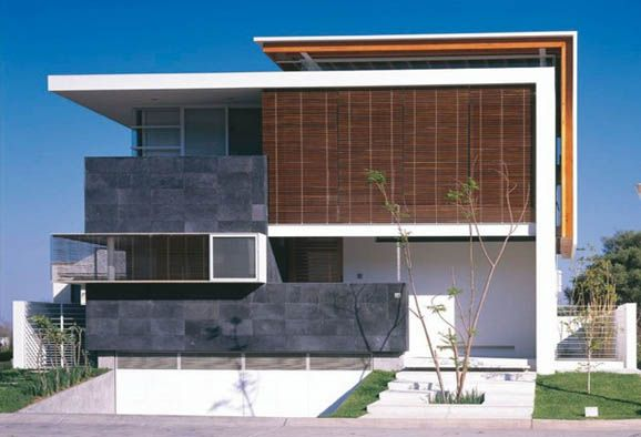 mexican modern house architecture design by hernandez silva 1 - Architectural Design Homes
