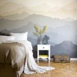 Decor: The �Mountain Mural� Bedroom Makeover