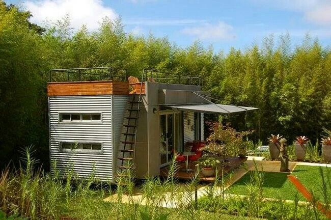 Container Home With Roof Deck Plans For Homes Pinterest