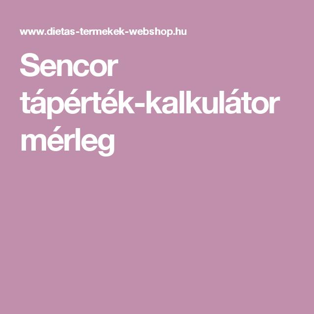 Sencor tápérték-kalkulátor mérleg - Lockscreen