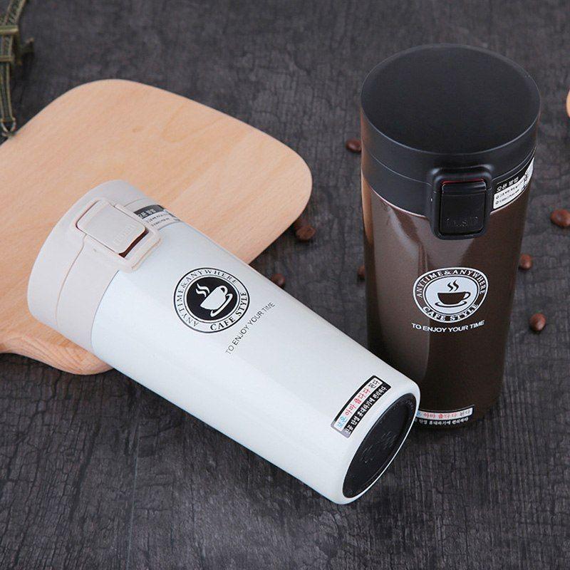 Hot Fashion 380ml Stainless Steel Coffee Mug Sale Coffee Mugs Shop Buymorecoffee Com Stainless Steel Coffee Mugs Stainless Steel Coffee Coffee Thermos