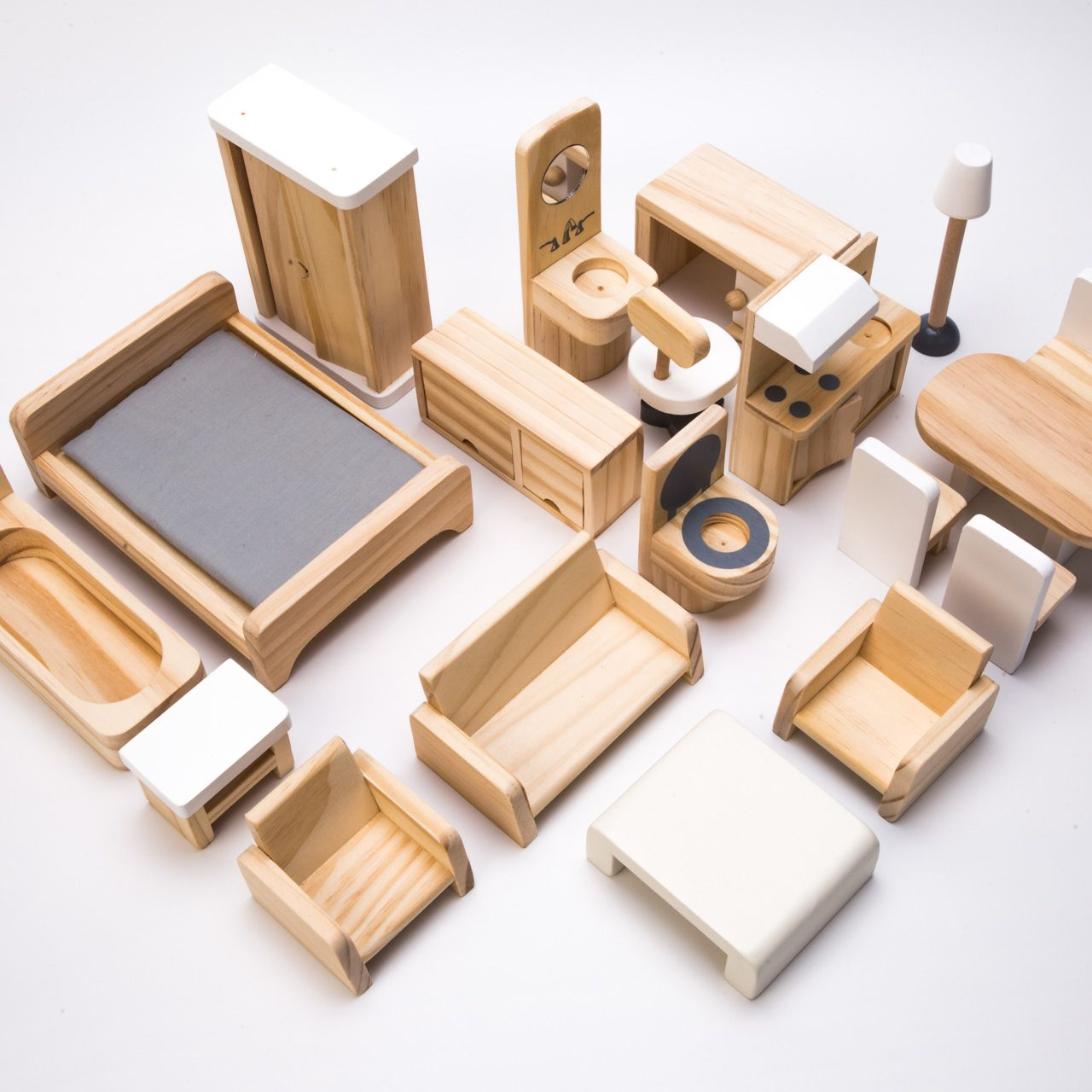 Source Mini Wooden Doll House Furniture On M Alibaba Com Wooden
