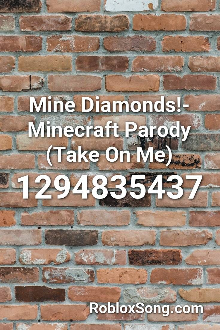take on me minecraft parody roblox id