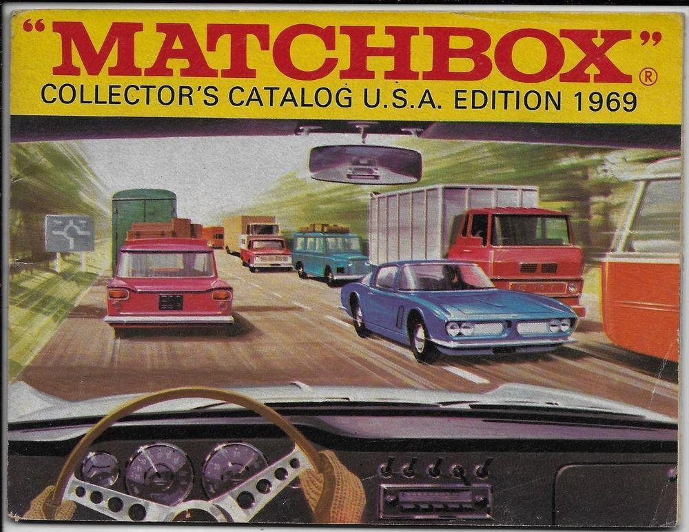 Matchbox Collectors Catalog 1969 Lot Of 3