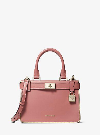 6f9195f3c8737 Tatiana Mini Leather Satchel Mini Bag