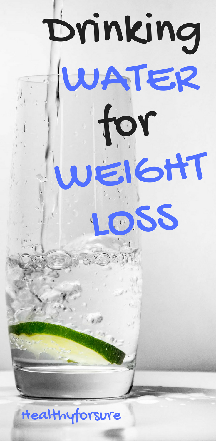 Will drinking more water help with weight loss