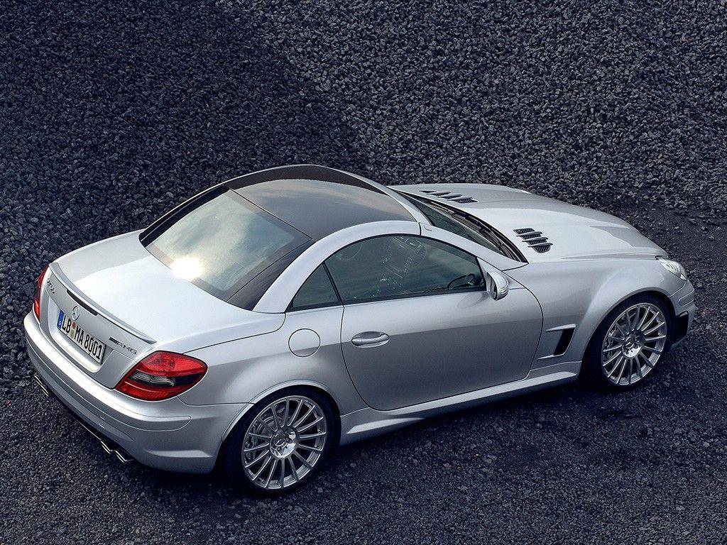 Mercedes Benz Slk 55 Amg Nice Little 2 Seater Hardtop Convertible
