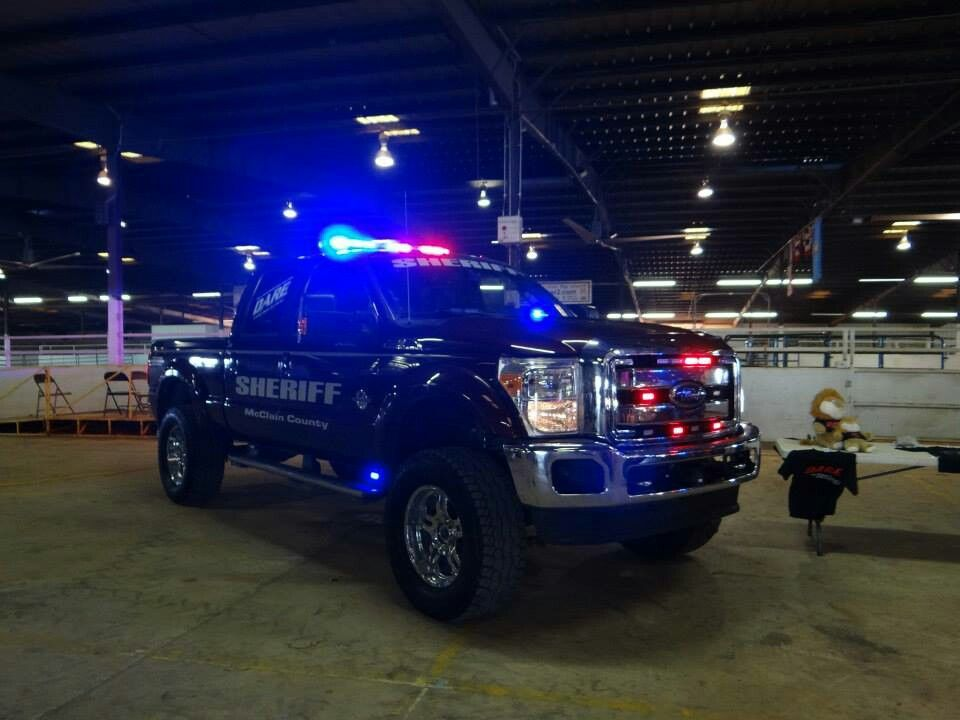 Ford F250 Police Cars Police Truck Police Car Lights