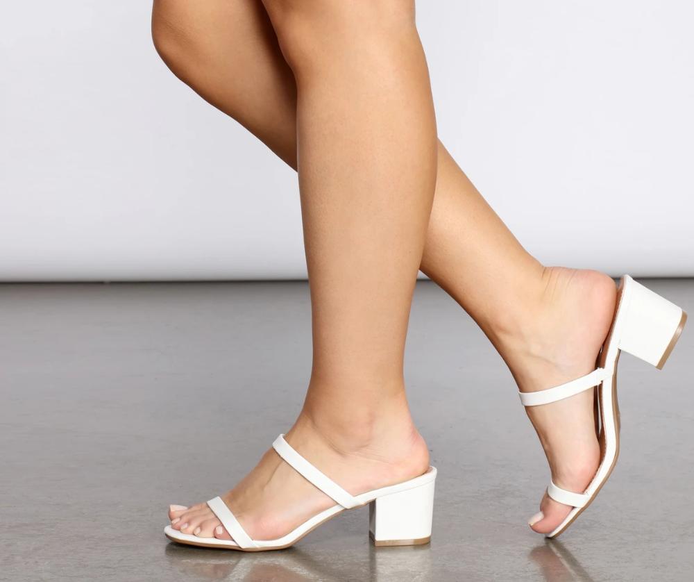 West Coastin Low Block Mules In 2020 Fancy Sandals Black Court Shoes Fashion Sandals Heels