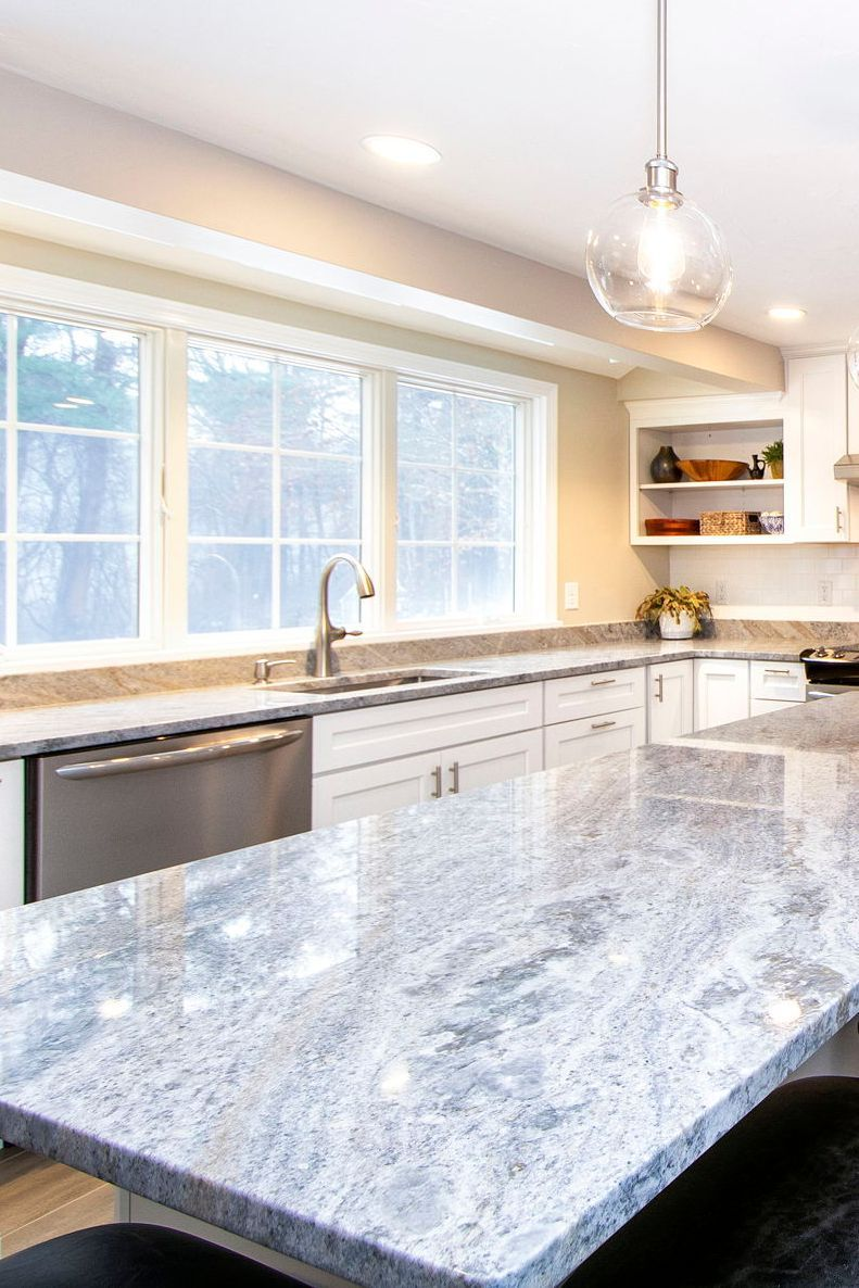 Kitchen Island In River Blue Marble Kitchen Kitchenisland Countertops In 2020 Kitchen Inspirations Marble Countertops Kitchen Kitchen Marble